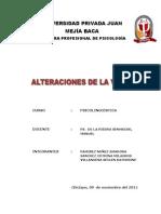Alteraciones de La Voz