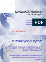 Espiritualidad feminista y Teología