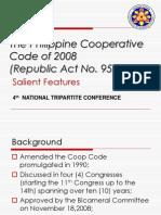 The Philippine Cooperative Code of 2008 Republic Act No 9520
