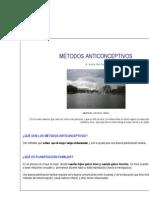 MÉTODOS ANTICONCEPTIVO1