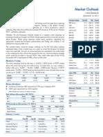 Market Outlook 13th December 2011