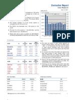 Derivatives Report 13th December 2011