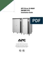 APC 208-480V UPS
