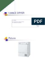Tumble Dryer - Inglês