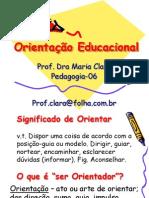 Orientação Educacional-1a Apostila