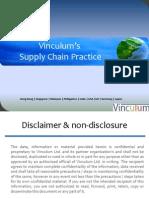 Vinculum's Supply Chain Practice