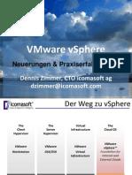 20091016 Vmware Vsphere Neuerungen Und Praxiserfahrungen Dennis Zimmer Icomasoft