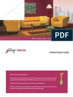 Sofa Care Booklet
