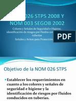 NOM 026 STPS 2008