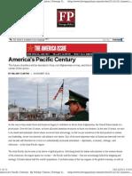 Hillary Clinton-America's Pacific Century