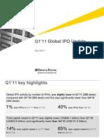 2011 Q1 Global IPO Update