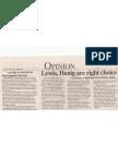 Daily News 10.24.08 Lewis Henig