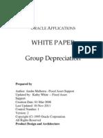 Group Deprn White Paper