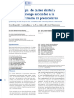 Epidemiologia de Caries en Mexico[1]