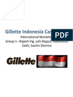 Gillette Indonesia Case Study