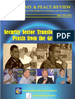 Security Sector Transformation- Praxis From the Ground