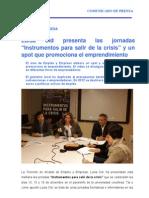 12-12-11 EMPLEO y EMPRESA_Jornadas Salir Crisis