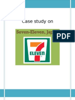 seven eleven japan co analysis on supply