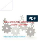 Measuring and Controlling Assets