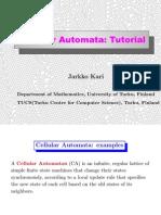 Jarkko Kari- Cellular Automata