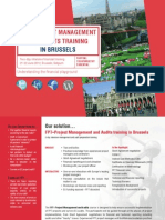 FP7- Project Management and Audits in Brussels