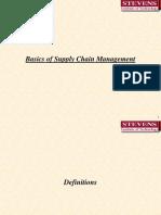 Basics of SCM