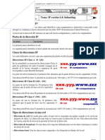IP versión 4 & Subnetting