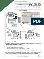 Servidor FTP en Windows Server 2003