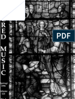 Sacred Music, 123.1, Spring 1996; The Journal of the Church Music Association of America
