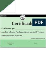 Modelo Diploma 2011
