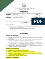 Programa Procesal General