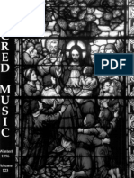 Sacred Music, 123.4, Winter 1996; The Journal of the Church Music Association of America