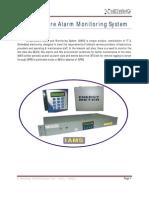 Alarm Monitoring Equipment IAMS