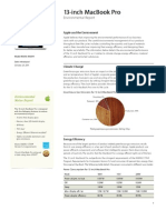 Macbook Pro 13-Inch Product Environmental Report Oct2011