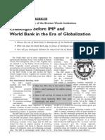 Challenges IMF