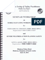 Severe Weather Planning Safety