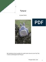 Totoro Pattern by Ravens' Lane