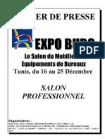 Dossier de Presse Expo Buro 2011 (Avec Photos)