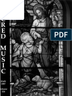 Sacred Music, 124.3, Fall 1997; The Journal of the Church Music Association of America