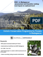 Holistic Conservation Programme for Forests in Madagascar