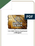 Paranjape Schemes Forest Trails Apartments - 2 & 3 BHK Lifestyle Apartments Bhugaon , Pune