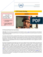 OTP Weekly Briefing 30 November - 5 December 2011 #106