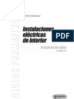 Instalaciones Electric As Practicas de Taller