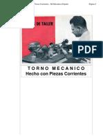 TORNO MECANICO - Hecho con Piezas Corrientes - Mi Mecánica Popular