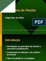 Diagrama de Pareto Apresentação Felipe Melo