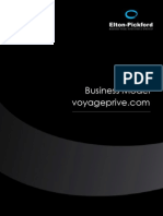 Etude Business Model Voyageprive