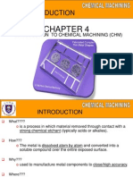 Chapter Chemical Machining