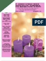 December 11, 2011 Bulletin