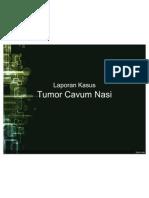 Tumor Cavum Nasi