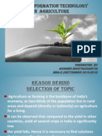 Project on Use of It in Agriculture